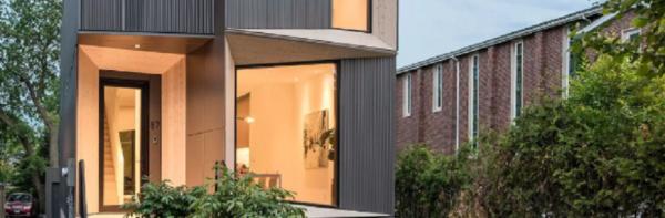 ساخت خانه ای با معماری معاصر در تورنتو